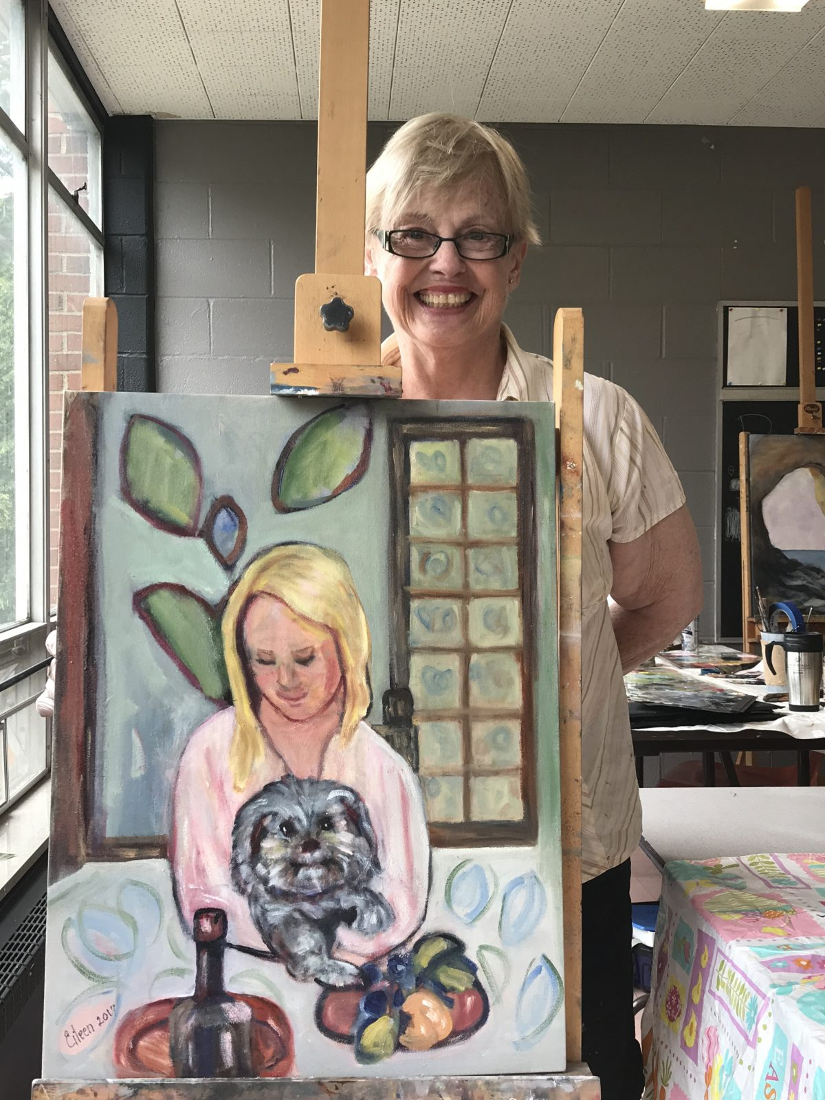 Meet our artist extraordinaire, Eileen Vernon