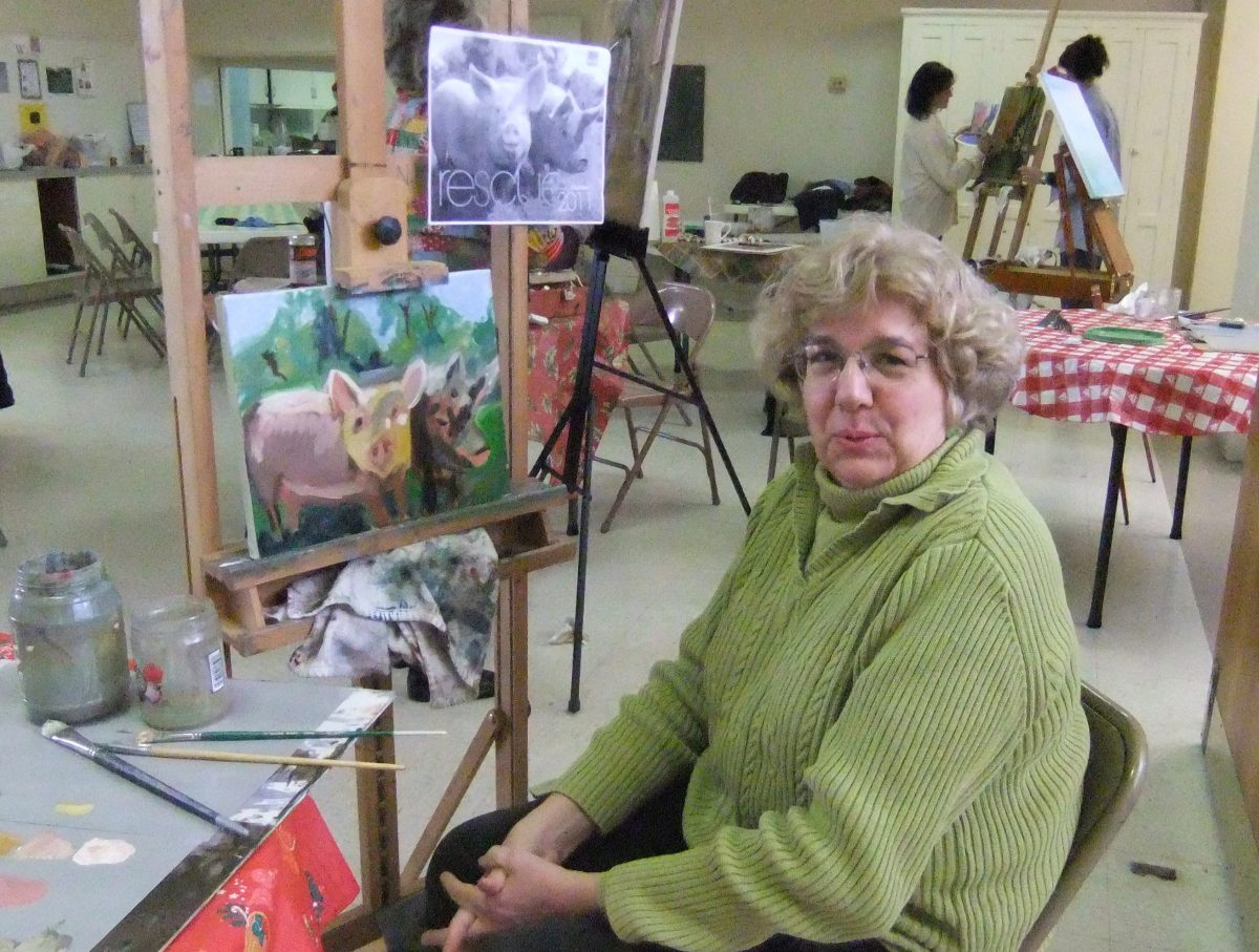 Meet our Artists Extroadinaire,  Nancy Marie Spotts and mother Udella Spotts