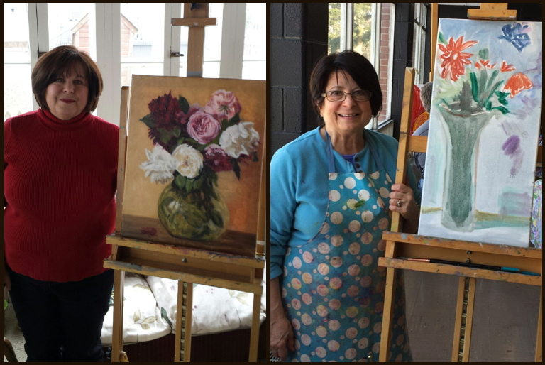 Meet these SISTERS: Debbie O'Leary & Karen Kirk Artists Extraodinaire