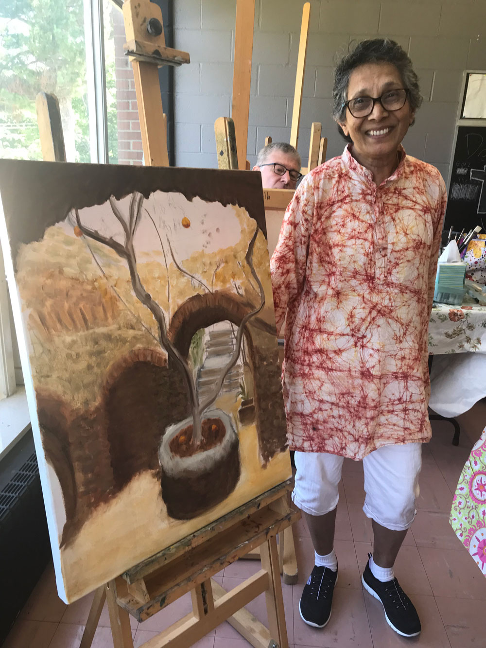 Meet our Artist Extraordinaire, Dr. Chaya Swami from India