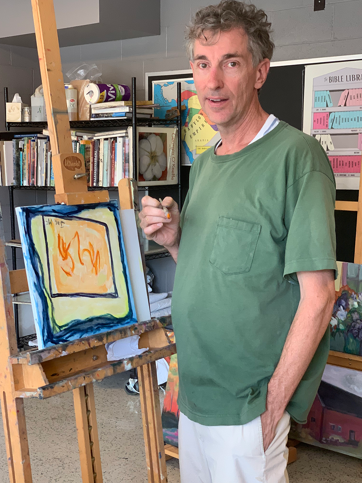 Meet Joe McChrystal: Our Artist Extraordinaire!
